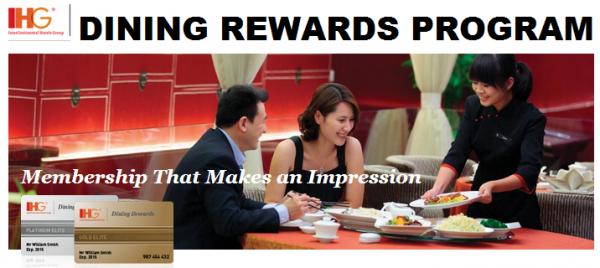 IHG Dining Rewards Program