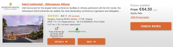 IHG Europe Summer 2014 50 Percent Off July 18 September 28 2014 IC Athens