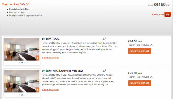IHG Europe Summer 2014 50 Percent Off July 18 September 28 2014 IC Berlin Rates
