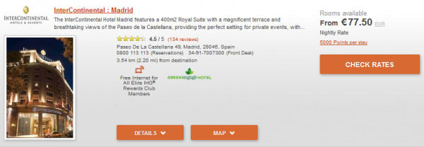 IHG Europe Summer 2014 50 Percent Off July 18 September 28 2014 IC Madrid