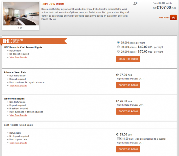 IHG Partner Rate 20 Percent Off IC BER Other