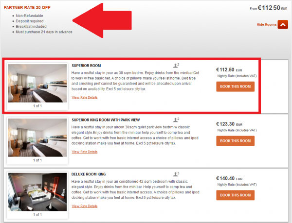 IHG Partner Rate 20 Percent Off IC BER