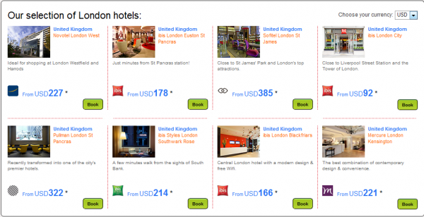 Le Club Accorhotels 575 Bonus Points In London May 1 August 31 2014 Hotels