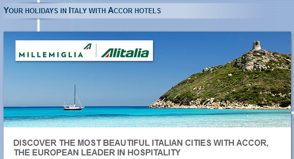 Le Club Accorhotels Alitalia Millemiglia