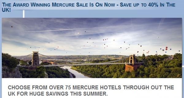 Le Club Accorhotels Mercure 2014 Summer Sales