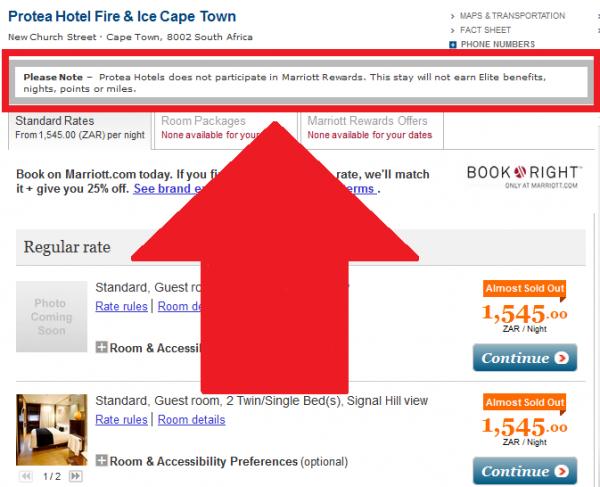 Marriott.com Cape Town Protea Hotel Fire & Ice