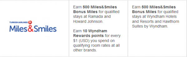 Wyndham Double Airline Miles Promo Summer 2014 List 3