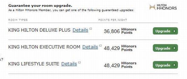 Hilton Beijing Wangfujing Upgrade Offers