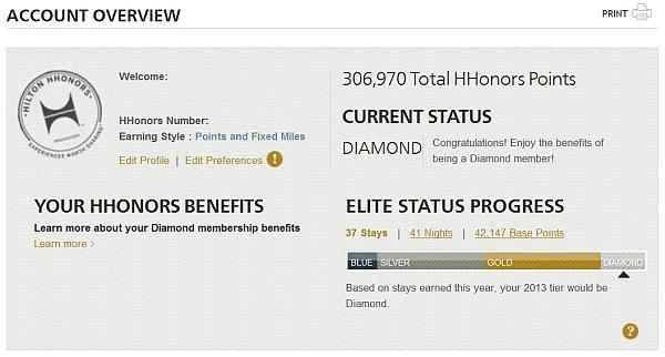 hilton-account-overview