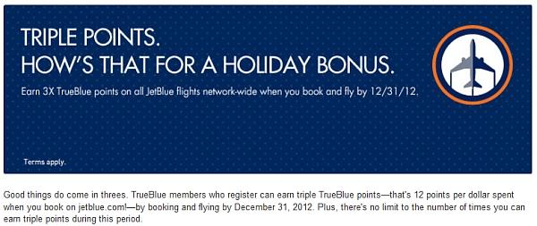 jetblue-triple-points-november-december-2012