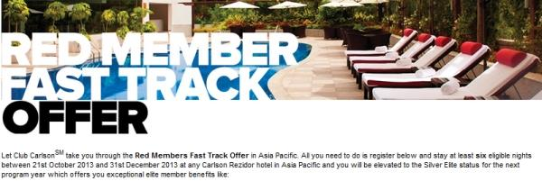 club-carlson-red-member-fast-track-offer