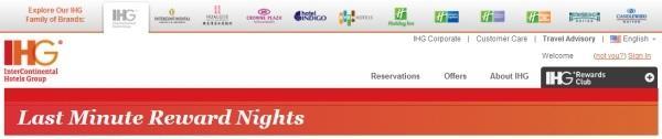 ihg-rewards-club-last-minute-rewards-nights-october-2013