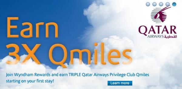 wyndham-rewards-qatar-airways-triple-miles
