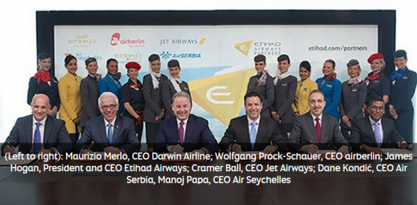 Etihad Airways Partners Photo