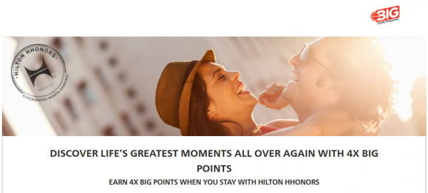 Hilton HHonors AirAsia Big Points Fall 2014 Promotion