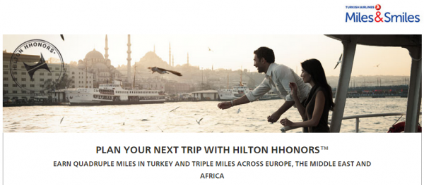 Hilton HHonors Turkish Airlines Miles&Smiles Fall 2014 Offer