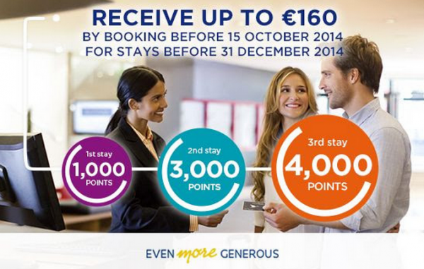 Le Club Accorhotels 8,000 Bonus Points Offer Fall 2014 Email