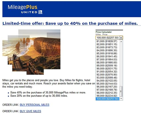united-mileage-plus-buy-miles-september-2012-offer