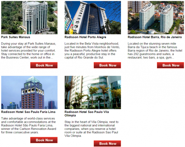 Club Carlson Score A Bonus In Brazil Fall 2014 Promotion Hotels 2