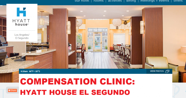 Compensation Clinic Hyatt House El Segundo