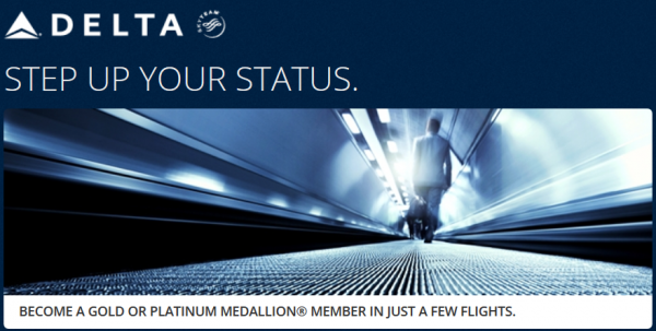 Delta Step Up Your Status Promotion