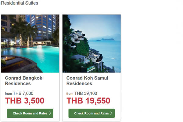 Hilton HHonors Thailand 50 Percent Off Flash Sale September 2014 Grid 4