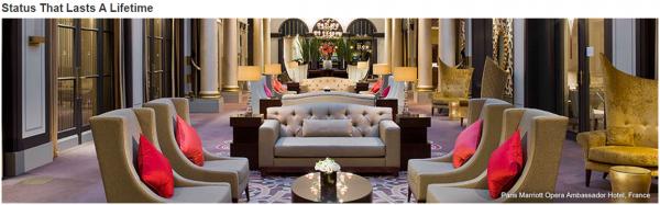 Marriott Rewards Account Status Lifetime