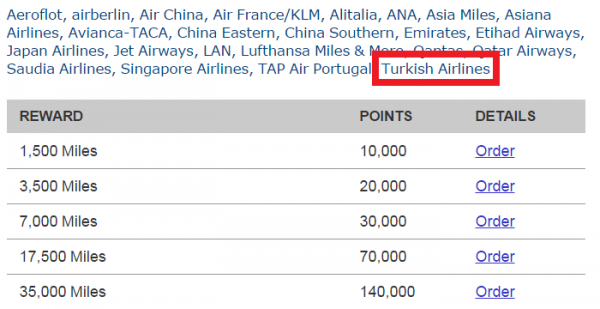 Marriott Rewards Turkish Airlines Conversion Points To Miles