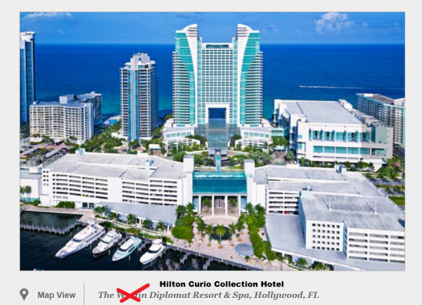 The Westin Diplomat Hilton Curio Collection