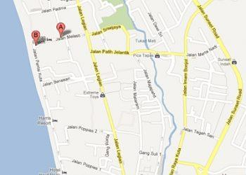 Pullman Bali Legian Nirwana Location