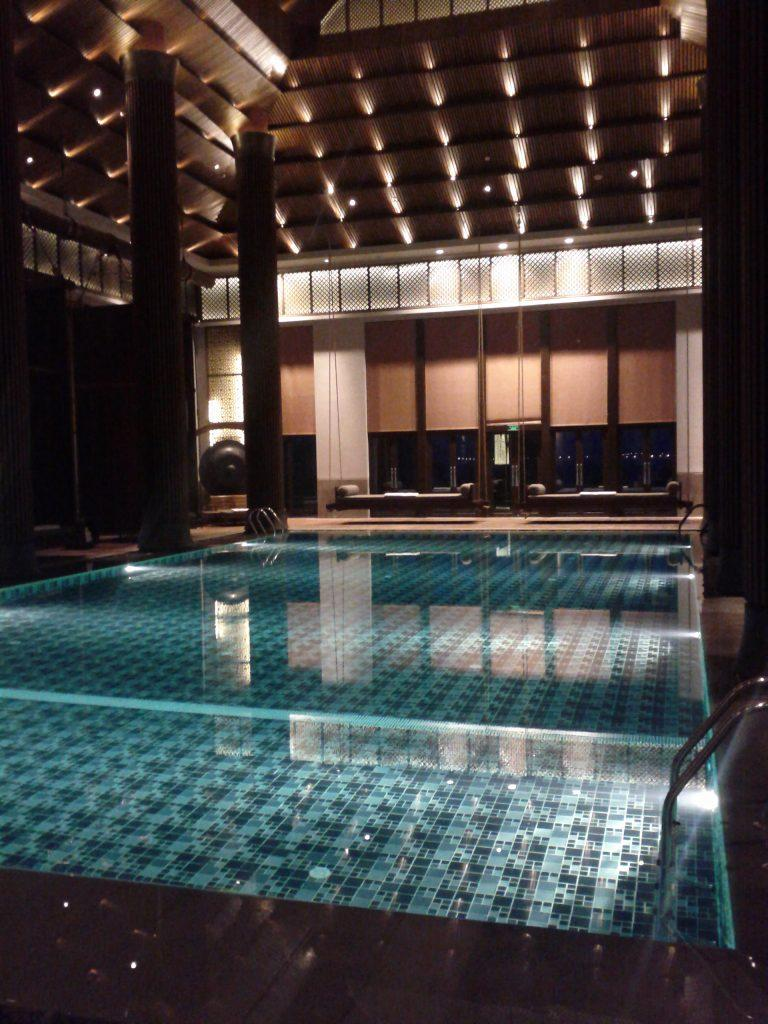 Park Hyatt Ningbo Pool Night View