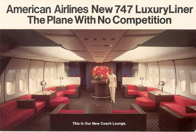 American Airlines Coach Lounge