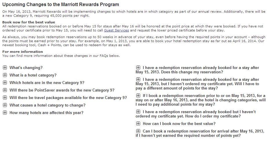 Marriott Deval Site