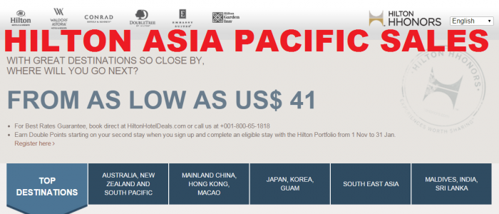 Hilton Asia Pacific Sales