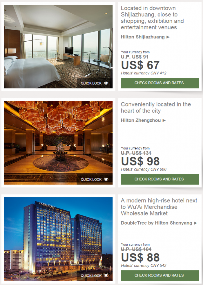 Hilton Greater China Sale Winter December 2014 14
