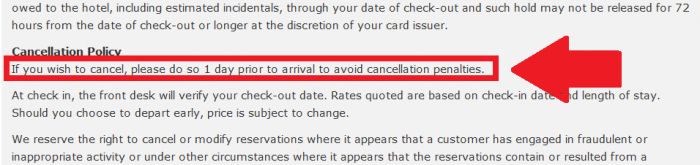 Hilton HHonors MVP Rate Cancellation