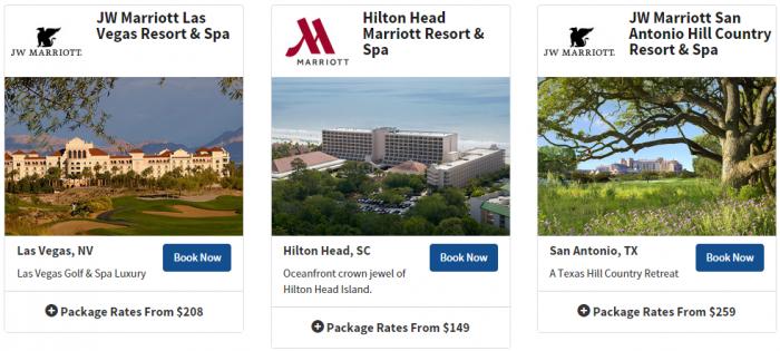 Marriott Rewards Resort Promotion 5
