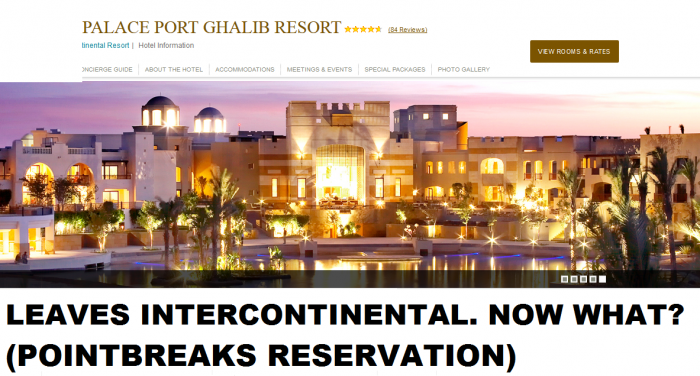 InterContinental Port Ghalib