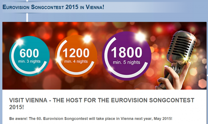 Le Club Accorhotels Eurovision Vienna Bonus Points Offer May 2015