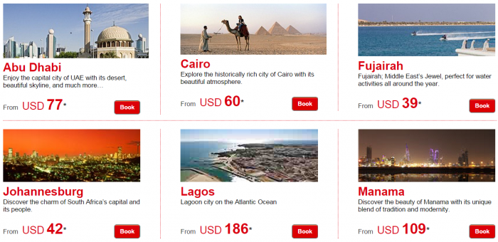 Le Club Accorhotels January 2015 Private Sale Easter Africa Egypt Bahrain UAE Price Grid