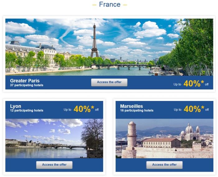 Le Club Accorhotels Weekly Private Sales 30 to 50 Percent Off January 20 2015 1
