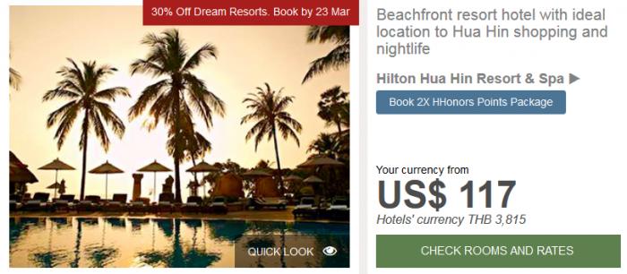 Hilton APAC Dream Resorts Hilton Hua Hin