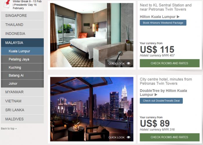 Hilton Southeast Asia Weekend Sale Malaysia