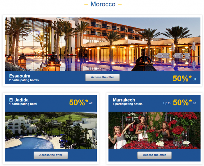 Le Club Accorhotels Private Sales February 24 Morocco 1
