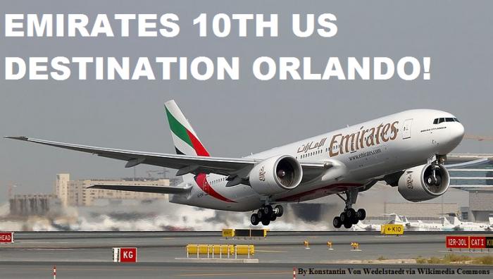 Emirates Dubai Orlando