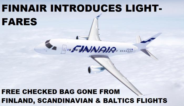Finnair Pay For Bag