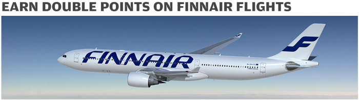 Finnair Plus Double Points April 1 May 31 2015