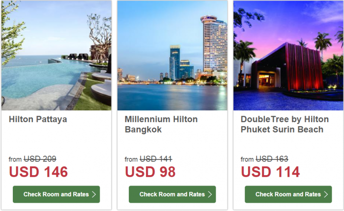 Hilton South East Asia Dream Resorts Promotion 3