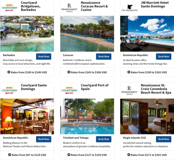 Marriott Rewards Latin America & The Caribbean Easter Offer 2015 1