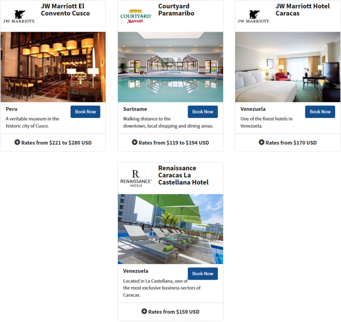 Marriott Rewards Latin America & The Caribbean Easter Offer 2015 9